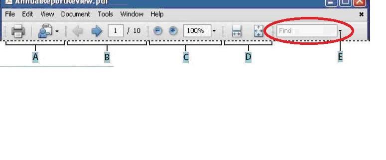 Advantage Of Using Find Tools In Adobe Acrobat PDF